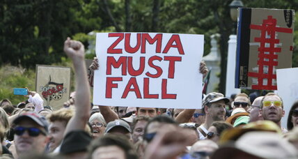 'Leaders not looters': South Africans march in anger over corruption