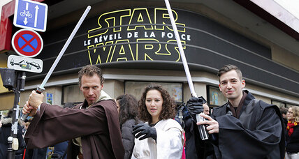 Darth Vader or Dark Vador? France gives Star Wars a Gallic twist (+video)