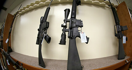 Majority of Americans now oppose assault weapons ban