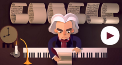 Ludvig van Beethoven: Kids connect with his music via Google Doodle