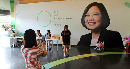 Madame President? Taiwan's leading candidate quietly defies China.