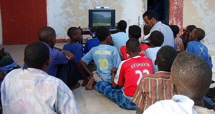 What's in a soccer game? For Somalia, a milestone goal.
