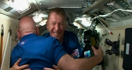 British astronaut Tim Peake weighs in on weightlessness