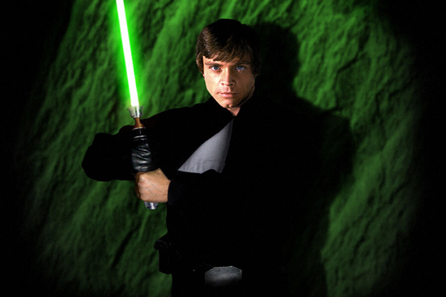 What would it take to make a real, working lightsaber?