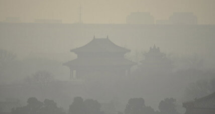 Smog chokes Beijing as second red alert of month begins