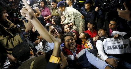 Hundreds in India protest release of gang-rape convict