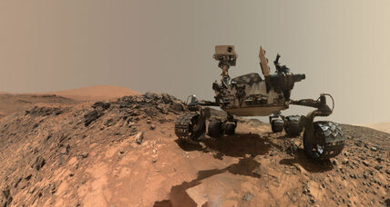 Curiosity rover finds silica on Mars. A sign of ancient flowing water?