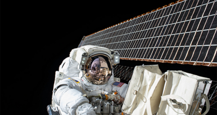 Space station astronauts to take unplanned spacewalk (+video)