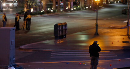 Las Vegas 'intentional' car crash: What was the driver thinking? (+video)