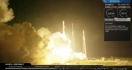 SpaceX rocket sticks landing, makes spaceflight history