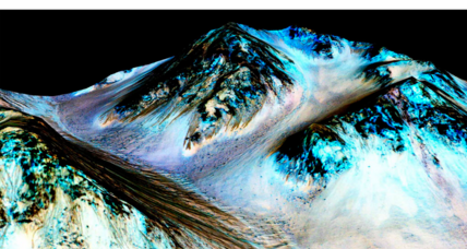 How did gullies on Mars get that way? Dry ice, say scientists
