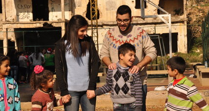 Christmas in Lebanon: Palestinian refugees extend hand to Syrians