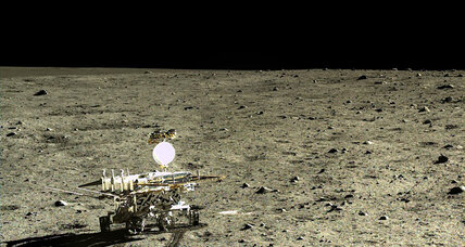 China's 'Jade Rabbit' rover finds curious substance on moon