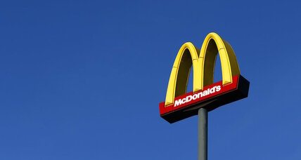 McDonald's trademarks 'signature crafted'