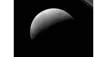 Enceladus in the limelight: What can a new photo of Saturn's icy moon tell us?