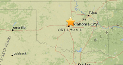 Strong Oklahoma earthquake knocks out power to 4,400 homes
