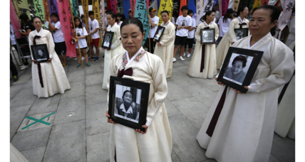 China to test Japan's sincerity on comfort women apology