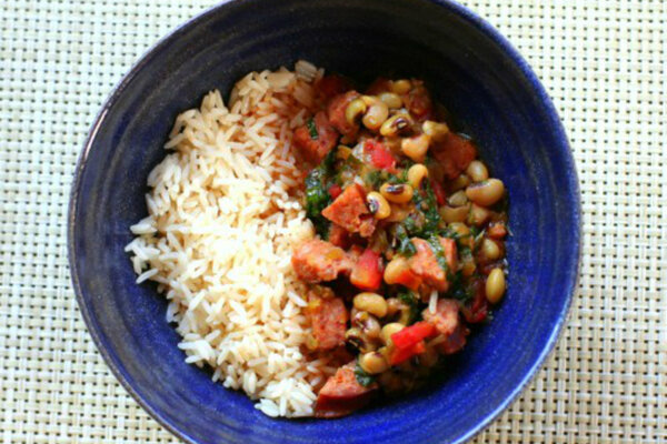 Black-eyed pea and collard gumbo - CSMonitor.com