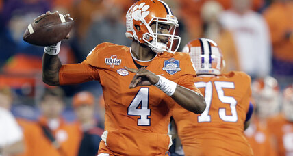 College Football Playoff: Clemson-Okla., Ala.-Mich. St. in national semifinals