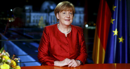 For Merkel, 2015 was a year of pushing Germans out of their comfort zone