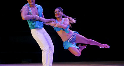 Former enemies share samba in Colombia's 'Dancing with the Stars'
