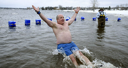 Polar Bear Club plunge: The science of an icy dip