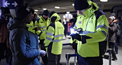 Sweden, Denmark impose border controls. New stress on EU openness?