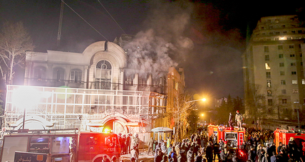Iran hard-liners see Saudi Embassy attack as a win-win. Are they wrong?