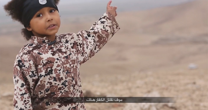 Whose responsibility is the child in that ISIS propaganda video?