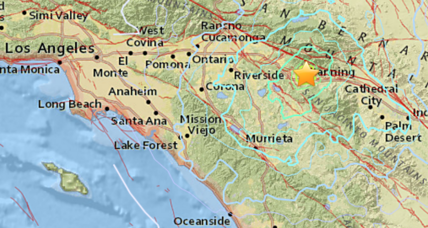Magnitude 4.5 earthquake shakes southern Californians awake