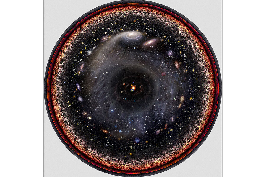 Why a musician used advanced algebra to illustrate the universe