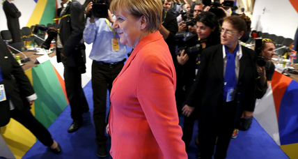 Merkel to receive Four Freedoms Award for financial, refugee crises