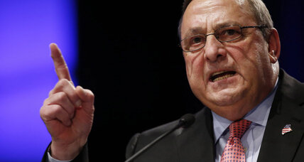 Maine gov. accuses drug dealers of impregnating 'young white' girls