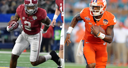 College football: Alabama-Clemson for the national title