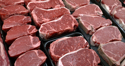 Reduce greenhouse gas emissions by eating less meat, report says