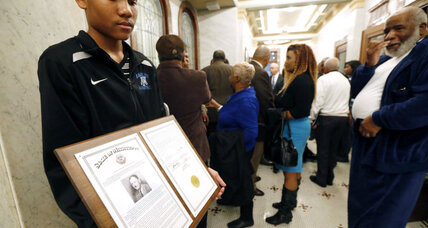 Mississippi honors Vernon Dahmer, fifty years after KKK slaying