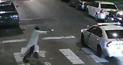Philly suspect blames Allah: Are US police shootings on the rise?