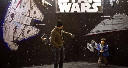 Will 'Star Wars: The Force Awakens' film opening in China break more records? (+video)