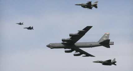 US flies bomber over South Korea after North's nuclear claim