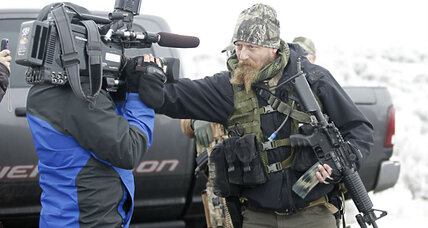 Oregon militia elicits rural supporters – including unwanted ones