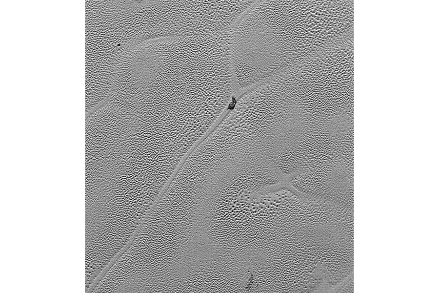 NASA probe spots giant 'X' on Pluto
