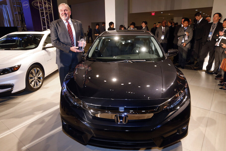 Honda Civic Volvo XC90 Get 2016 North American Car And Truck Of The Year Awards