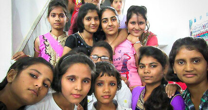 A school for child brides delays marriage and provides education