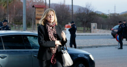 Why is Spain's Princess Cristina on trial?