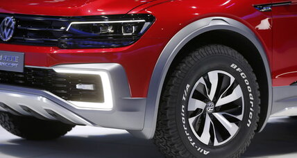 VW unveils Tiguan, a new hybrid plug-in concept car