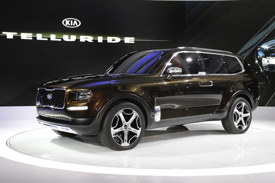 Kia Telluride Suv Concept Debuts At Detroit Auto Show Csmonitor