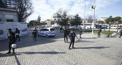 At least 10 dead after Istanbul suicide bombing
