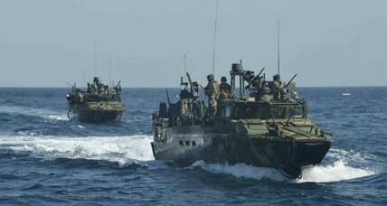 Two US Navy boats in Iran custody, crew to be returned 'promptly'