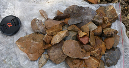 'Hobbit' gets a neighbor: Stone tools hint at archaic human presence