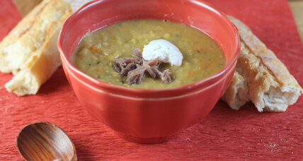 Slow-cooker pea soup
